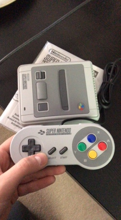 SNES with Pad